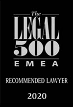 The Legal 500 EMEA – Gillioz Dorsaz & Associés – Recommended Lawyer 2020